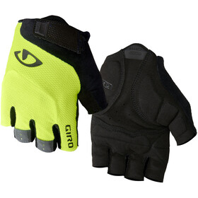 Giro Bravo Gel Gloves highlight yellow
